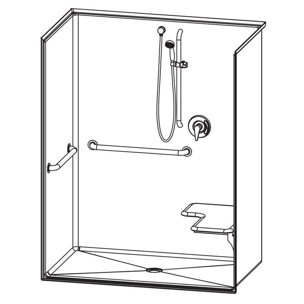 Aquatic Showers Shower Enclosures | H2O Supply Inc - Lewisville ...