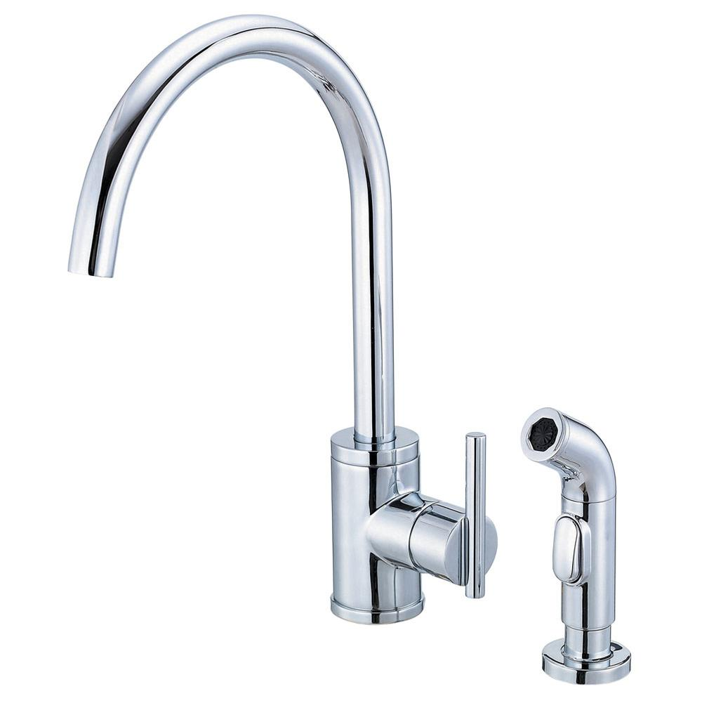 Danze v1 danze kitchen faucets 25 D Danze Parma 1H Kitchen Faucet
