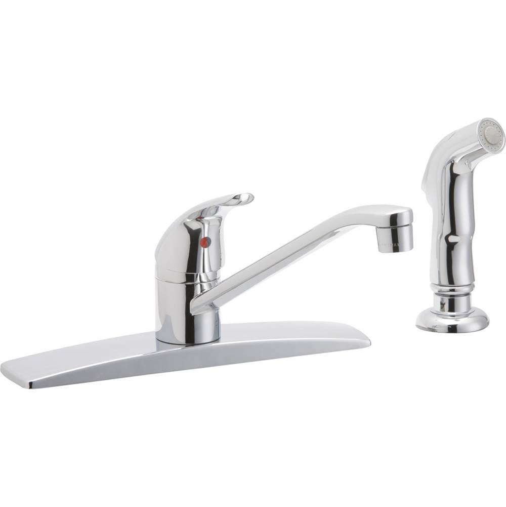elkay faucets kitchen faucets deck mount h2o supply inc