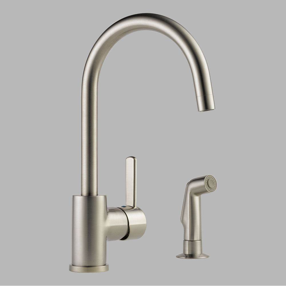 Peerless Deck Mount Kitchen Faucets item P199152LF-SS
