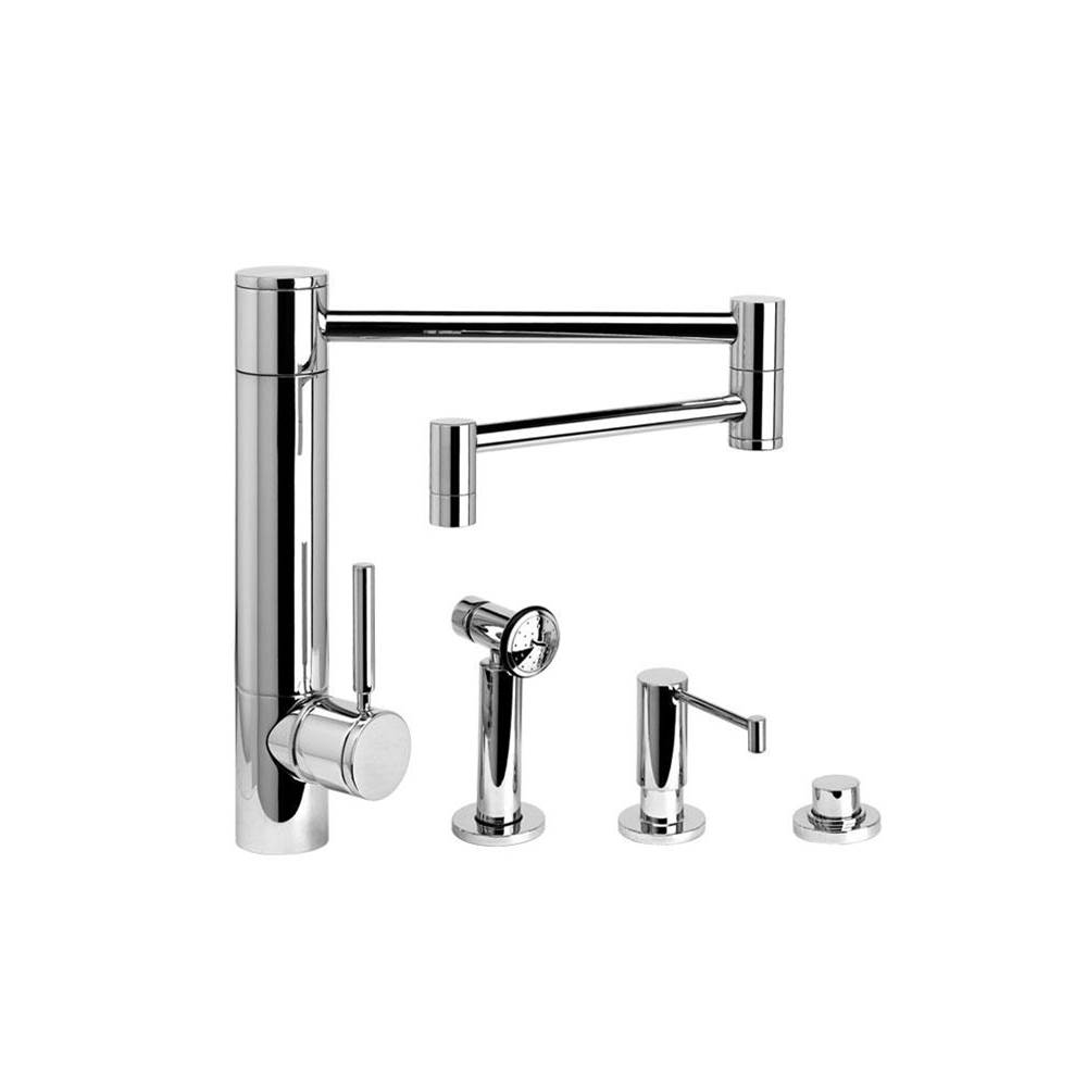 Waterstone Single Hole Kitchen Faucets item 3600-18-3-UPB
