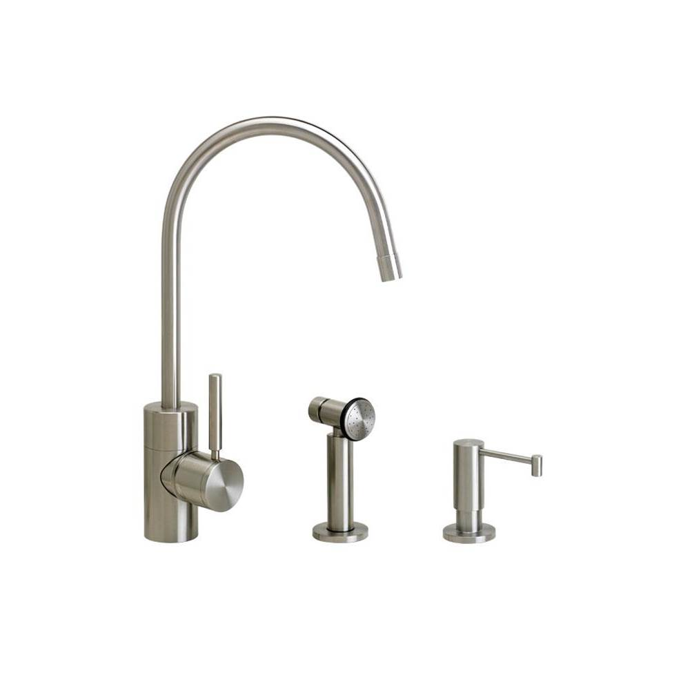 Waterstone Single Hole Kitchen Faucets item 3800-2-AMB